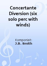 Concertante Diversion (six solo perc with winds)