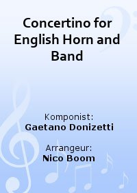 Concertino for English Horn and Band