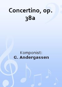 Concertino, op. 38a