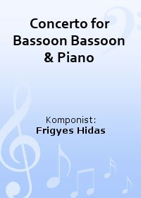 Concerto for Bassoon Bassoon & Piano
