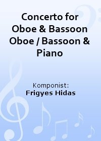 Concerto for Oboe & Bassoon Oboe / Bassoon & Piano