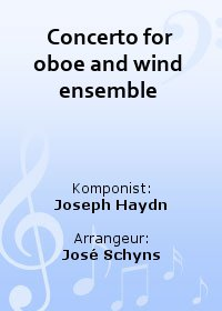 Concerto for oboe and wind ensemble