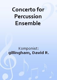 Concerto for Percussion Ensemble