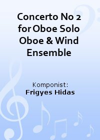 Concerto No 2 for Oboe Solo Oboe & Wind Ensemble