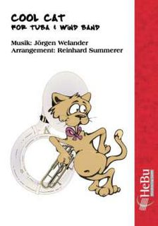 Cool Cat (for Tuba & Wind Band)
