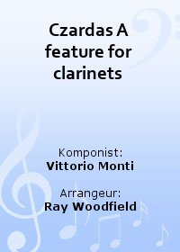 Czardas A feature for clarinets
