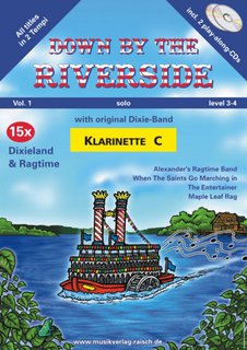 Down by the Riverside - Playalong für Klarinette in C