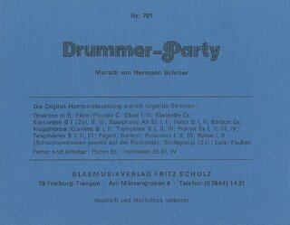 Drummer-Party