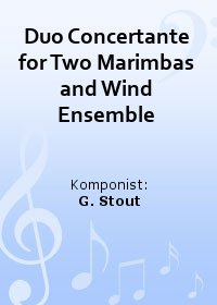 Duo Concertante for Two Marimbas and Wind Ensemble