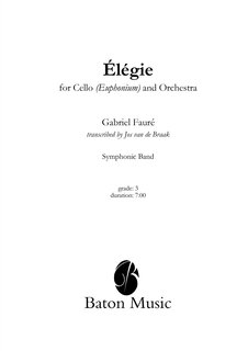 Elégie for Cello or Euphonium and Orchestra