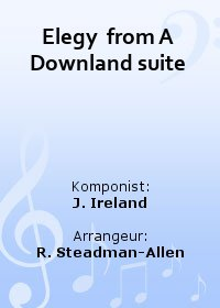Elegy  from A Downland suite