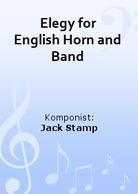 Elegy for English Horn and Band
