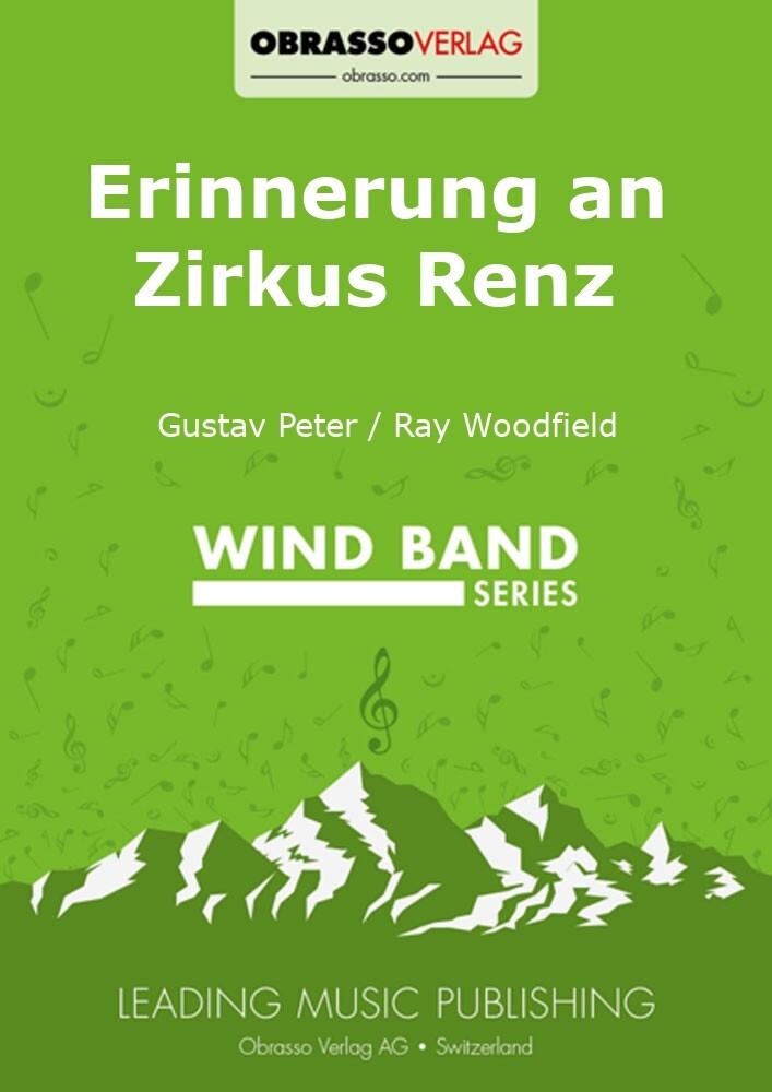 Erinnerung an Zirkus Renz, 139,18 CHF - Noten für Blasorchester, Büch