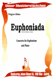 Euphoniada Concerto for Euphonium and Wind Orchestra