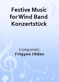 Festive Music for Wind Band Konzertstück