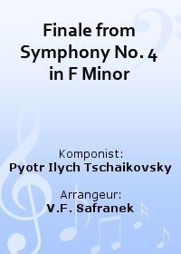Finale from Symphony No. 4 in F Minor