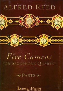 Five Cameos for Sax Quartett