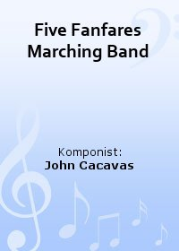 Five Fanfares Marching Band