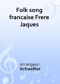 Folk song francaise Frere Jaques