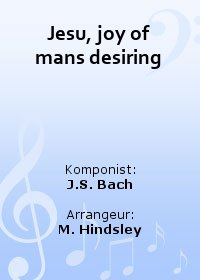 Jesu, joy of mans desiring