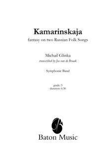 Kamarinskaja Fantasy on two Russian Folk Songs
