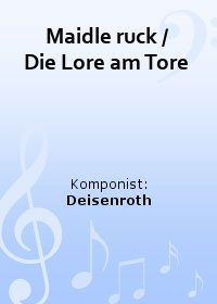 Maidle ruck / Die Lore am Tore