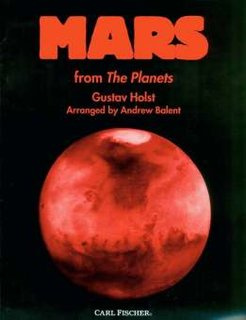 Mars from The Planets