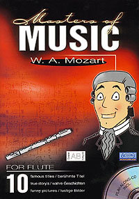 Masters Of Music - W.A. Mozart/Flöte