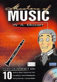 Masters Of Music - W.A. Mozart/Klarinette