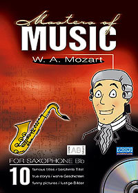 Masters Of Music - W.A. Mozart/Sax in Bb, Eb