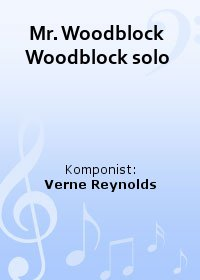 Mr. Woodblock  Woodblock solo