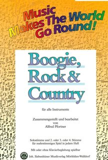 Music makes the world go round - Boogie, Rock & Country - Gitarre/Keyboard/Orgel/Akkordeon