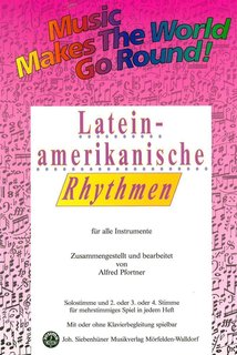 Music makes the World go round - Lateinamerikanische Rhythmen - Es-Alt-Sax.