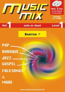 Music Mix (Vol. 1) - Bariton in C