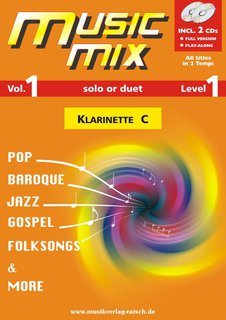 Music Mix (Vol. 1) - Klarinette in C