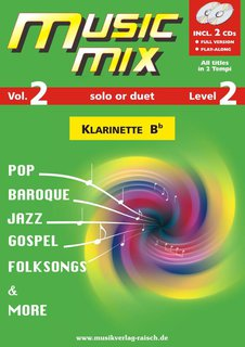 Music Mix (Vol. 2) - Klarinette in B