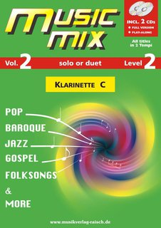 Music Mix (Vol. 2) - Klarinette in C