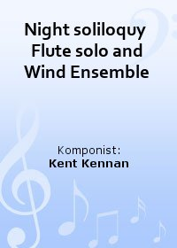 Night soliloquy  Flute solo and Wind Ensemble