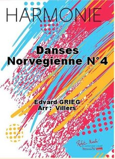 Norwegian dance No 4 - Danse norvégienne No 4