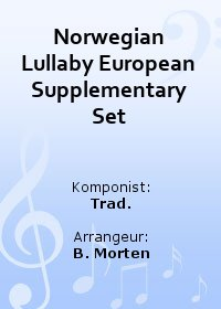 Norwegian Lullaby European Supplementary Set