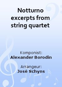 Notturno excerpts from string quartet