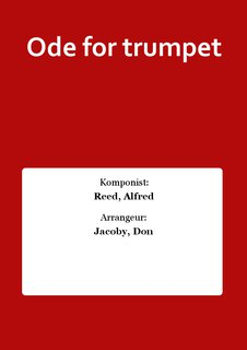 Ode for trumpet