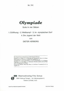 Olympiade Suite in 4 Sätzen