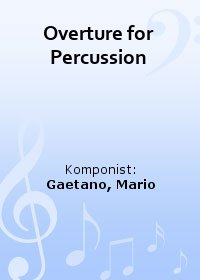 Overture for Percussion