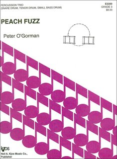 Peach Fuzz for percussion - trio