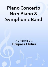 Piano Concerto No 1 Piano & Symphonic Band