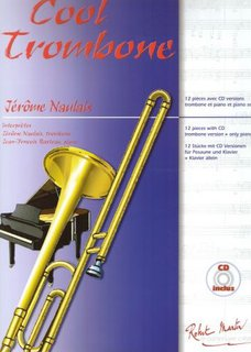 Play Along - Cool Trombone - 12 pieces for trombone and piano