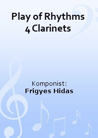 Play of Rhythms 4 Clarinets