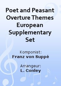 Poet and Peasant Overture Themes European Supplementary Set