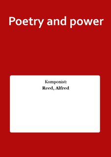 Poetry and power